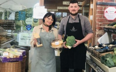 Apley Farm Shop listed in The Times Top 30